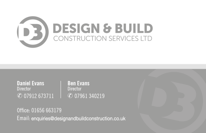 design and build construction ltd, bridgend-builders, contact